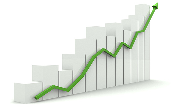 Business Growth graph chart